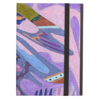 """""""Lavender"""" Abstract Art Cover For iPad Air"""
