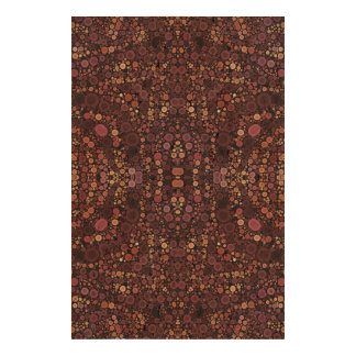 Lavender Abstract Pattern Cork Fabric