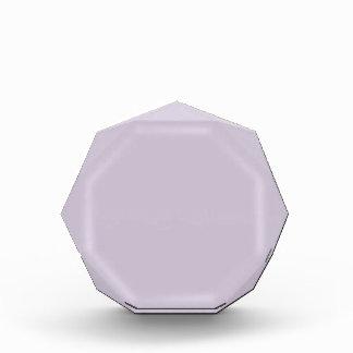 Lavender Acrylic Award