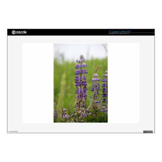 "Lavender Alaskan Lupines 15"" Laptop Decal"