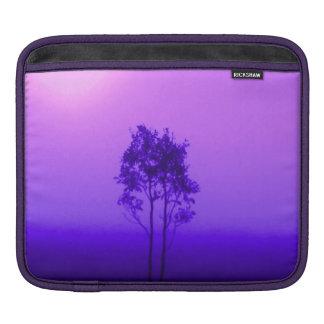 Lavender Amethyst Purple Trees Sunrise Nature iPad Sleeves