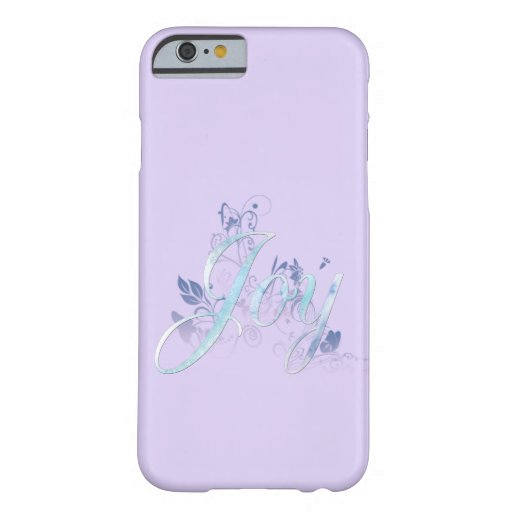 Lavender and Blue Joy Barely There iPhone 6 Case