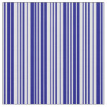 [ Thumbnail: Lavender and Blue Striped/Lined Pattern Fabric ]