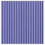 [ Thumbnail: Lavender and Blue Stripes Pattern Fabric ]