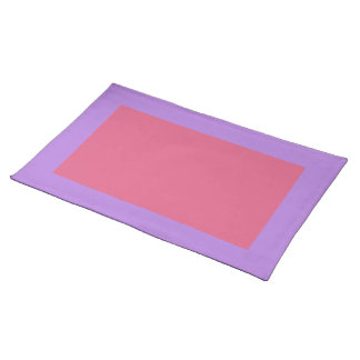 Lavender and Blush Placemat