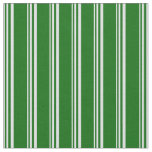 [ Thumbnail: Lavender and Dark Green Lines/Stripes Pattern Fabric ]