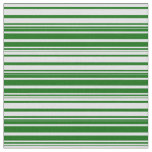 [ Thumbnail: Lavender and Dark Green Striped Pattern Fabric ]