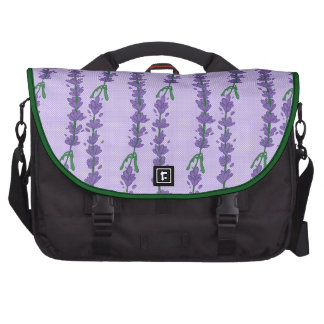 Lavender and Dot Bags For Laptop