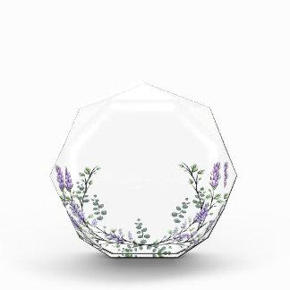 Lavender  and Eucalyptus Acrylic Award