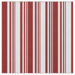 [ Thumbnail: Lavender and Maroon Stripes/Lines Pattern Fabric ]