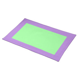 Lavender and Mint Green Placemat