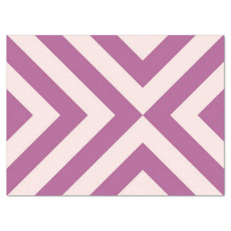 Lavender and Pink Chevrons Tissue Paper