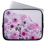 Lavender and Pink flowers Laptop Computer Sleeves