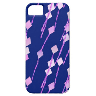 lavender and pink kites against dark blue iPhone SE/5/5s case