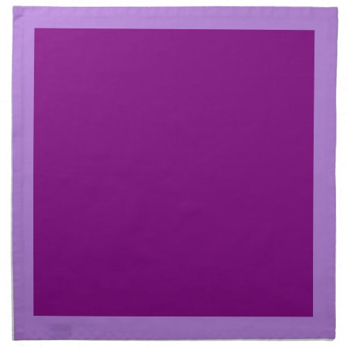 Lavender and Purple Napkins