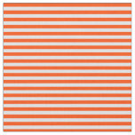 [ Thumbnail: Lavender and Red Colored Lined/Striped Pattern Fabric ]