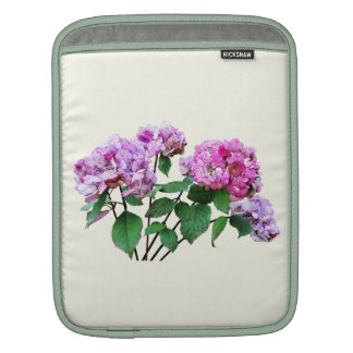 Lavender and Rose Hydrangeas Sleeve For iPads