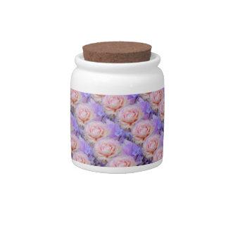 Lavender and Roses Candy Dish