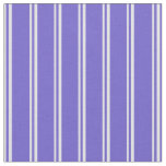 [ Thumbnail: Lavender and Slate Blue Lines Fabric ]