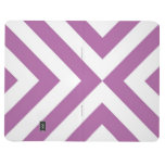Lavender and White Chevrons Journal