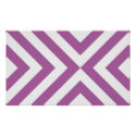 Lavender and White Chevrons