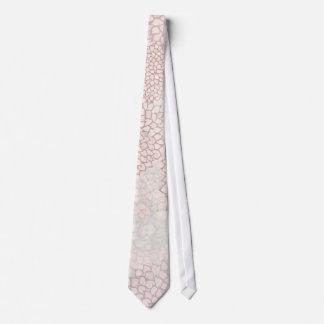 Lavender and White Flower Burst Tie