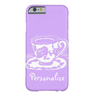 Lavender and White Teacup Custom iPhone 6 Case