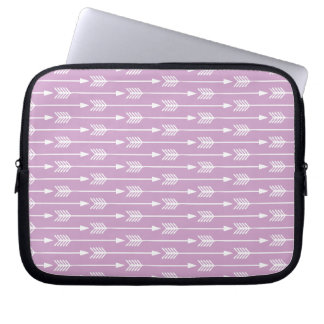 Lavender Arrows Pattern Computer Sleeve