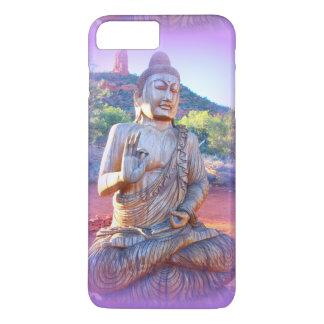 lavender aura buddha iPhone 7 plus case