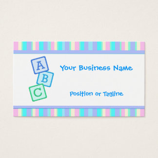 Lavender Baby Business Card