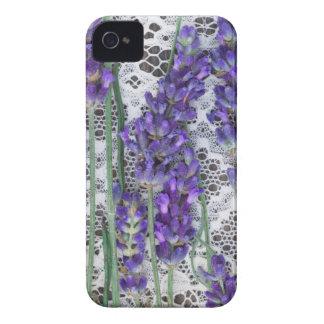 lavender background iPhone 4 case