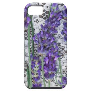 lavender background iPhone SE/5/5s case