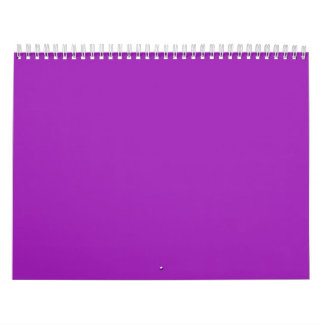 Lavender Backgrounds on a Calendar