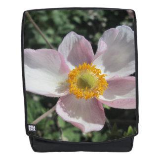 Lavender Beach Plum Rose Flower Backpack