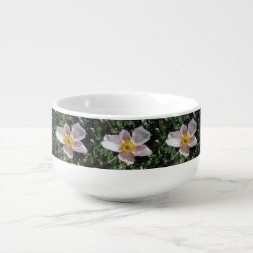 Beach Themed Lavender Beach Plum Rose Flower Soup Mug