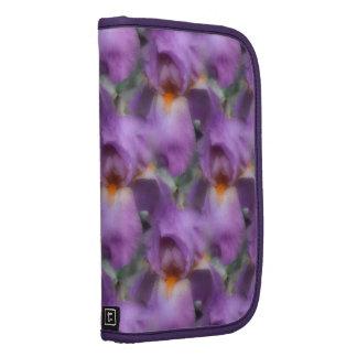 Lavender Bearded Iris Flower Nature Pattern Planner