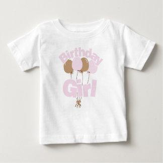 Lavender Birthday Girl Baby T-Shirt