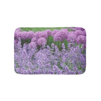 Lavender Blooms in Stockholm Bath Mat
