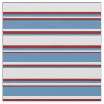 [ Thumbnail: Lavender, Blue, and Maroon Lines/Stripes Pattern Fabric ]