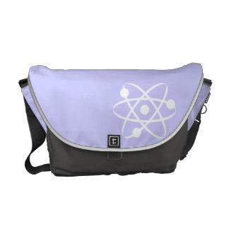 Lavender Blue Atom Messenger Bag