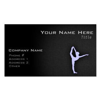 Lavender Blue Ballet Dancer Business Cards