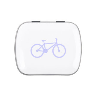 Lavender Blue Bicycle Candy Tin