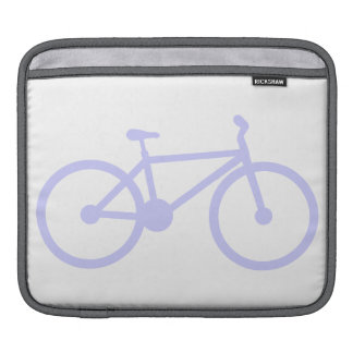 Lavender Blue Bicycle Sleeve For iPads