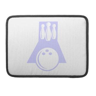 Lavender Blue Bowling MacBook Pro Sleeve