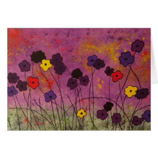"""Lavender Blue"" by Linda Powell~Original Note Card"