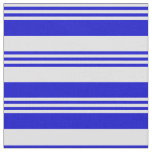 [ Thumbnail: Lavender & Blue Colored Pattern Fabric ]