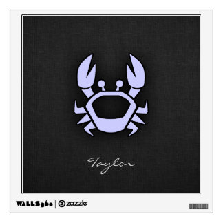 Lavender Blue Crab Wall Sticker