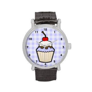 Lavender Blue Cupcake Watch