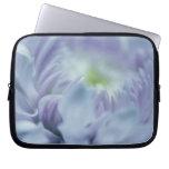 Lavender Blue Flower Computer Sleeve
