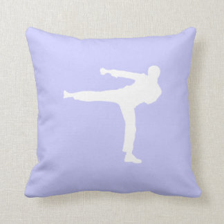 Lavender Blue Martial Arts Pillow